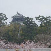 桜の名所です。駐車場もたくさんあります。