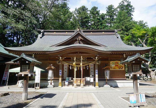 駒形神社(岩手県奥州市)