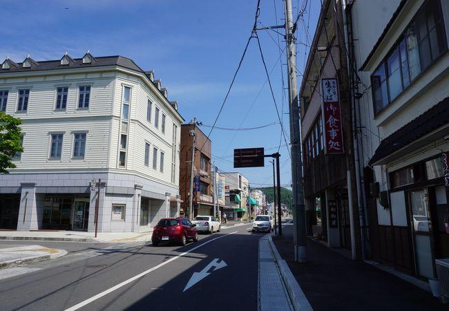 新穀町通り