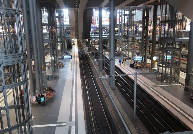 立体構造の駅