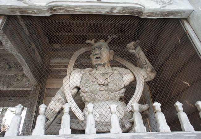 仁王像 (常堅寺)