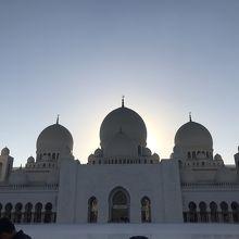 お昼のグランドモスク