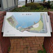 敦賀観光の中心で海沿いウォーク
