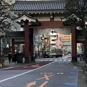 増上寺への入り口