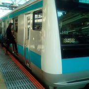 川崎駅から利用しました。