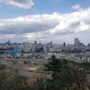 仙台市街を一望できるスポット
