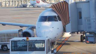 大阪国際空港 (伊丹空港) 早朝から始動しています。