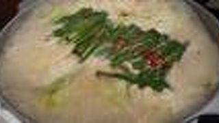 絶品の味噌もつ鍋