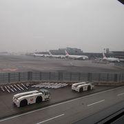 東京の海外旅行のメインの空港です。