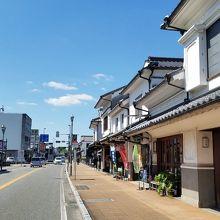 筑後吉井「白壁の町並み」