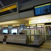 小さいからこそ使いやすい空港です!
