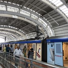 チェンナイメトロ空港駅