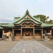 豊臣秀吉を祀る神社です