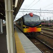 日本海の絶景列車