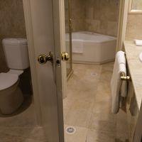 浴室も広さがあり、清潔。