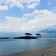 美ら海水族館奥の美麗ビーチ
