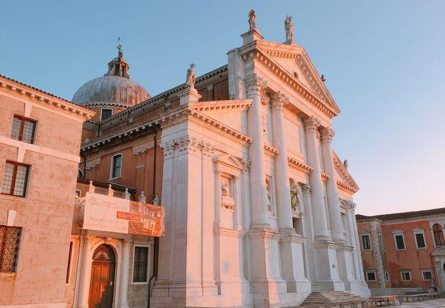 サン・マルコ運河を隔てて向かい 「サンジョルジョ マッジョーレ教会」 イタリア ヴェネツィアさん