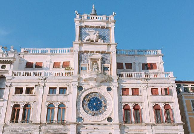 サン マルコ広場 「時計塔」 イタリア ヴェネチア