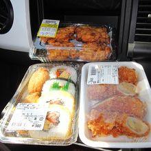 お昼はとれたて市場ランチです!旨い!
