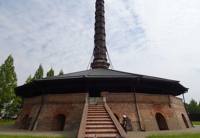 デザインにも秀でた煉瓦窯の遺構 (野木ホフマン館)