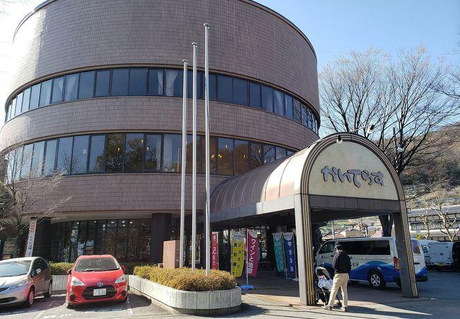 善光寺近くの物産館