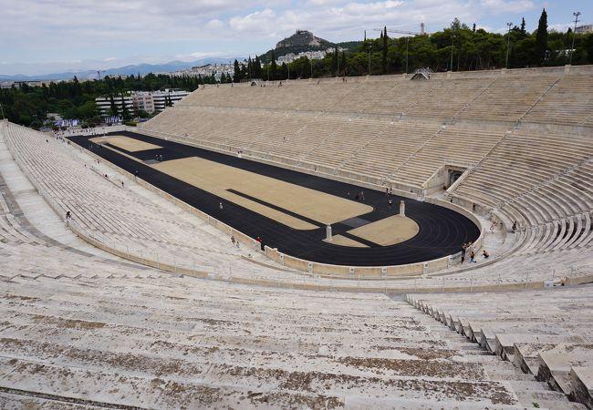 第一回オリンピックのメイン会場だったところです。
