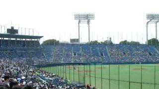 とても清々しい感じの球場です。