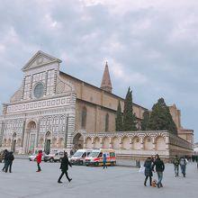 サンタ・マリア・ノヴェッラ教会の外観