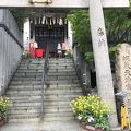 神山の綱敷天神社の御旅社