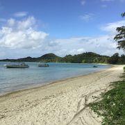 川平湾、公園から車であれば10分以内のビーチです。