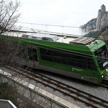 モンセラット登山鉄道