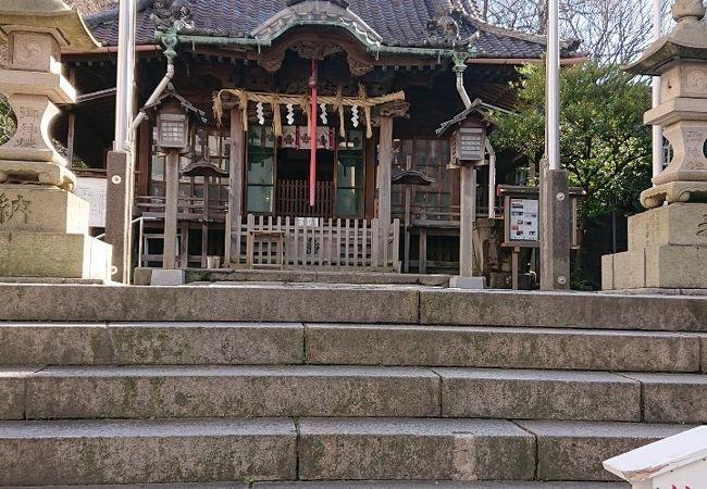 おごそかな神社でした
