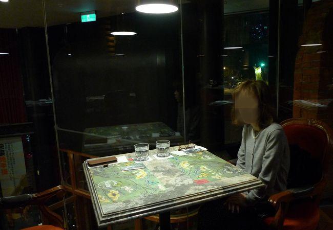 宮原眼科の2階にあるお洒落なレストラン