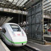 ドイツ国内を網羅する鉄道
