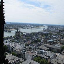 塔の上から見える景色