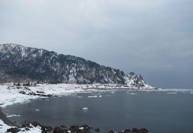 岬まで散策