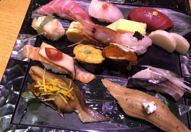 梅丘寿司の美登利 赤坂店
