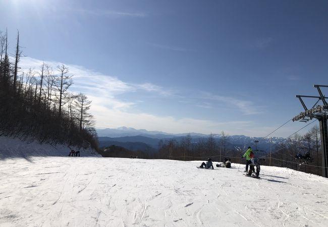 積雪 群馬 スキー 場