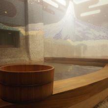 船のような形をした家族風呂