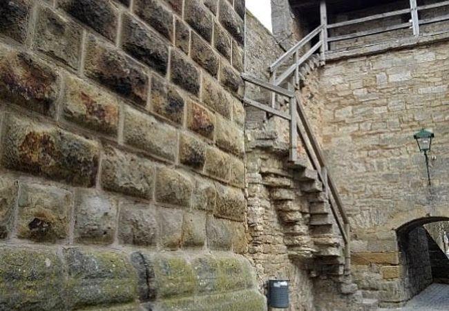 歩ける 城壁
