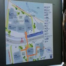 天王洲アイル 街区案内図