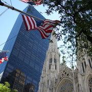 ニューヨーク5番街の大聖堂