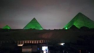 ピラミッド音と光のショー