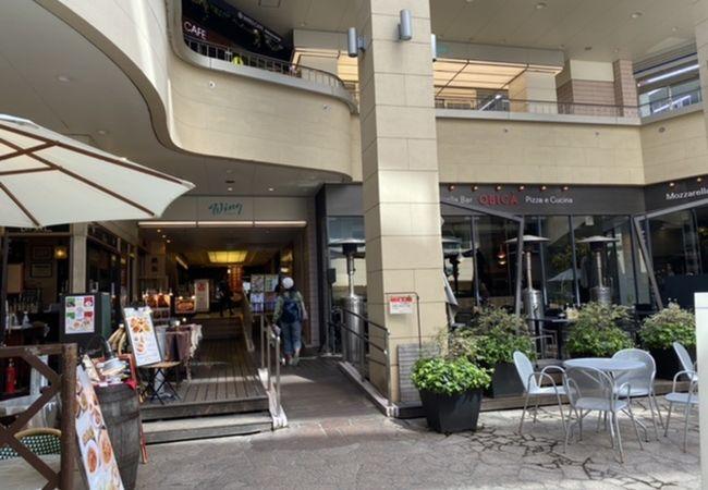 品川駅前の京急系ショッピングモール!