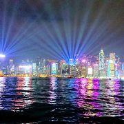 いかにも香港の風景