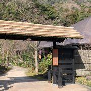 緑豊かな露天風呂と温泉の湯上りのひと時を「箱根湯寮」