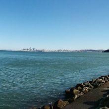 対岸のサンフランシスコシティ