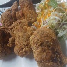 鶏ガラ唐揚げ