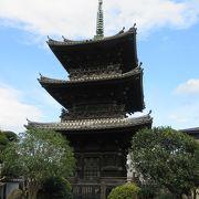 均整の取れた美しい三重塔です。