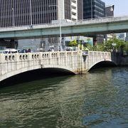 中之島の北側にある川です